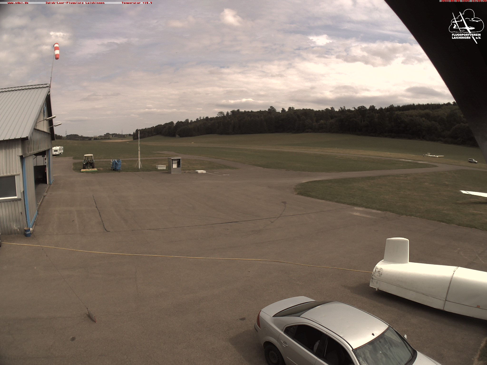 Webcam Flugplatz Laichingen EDPJ